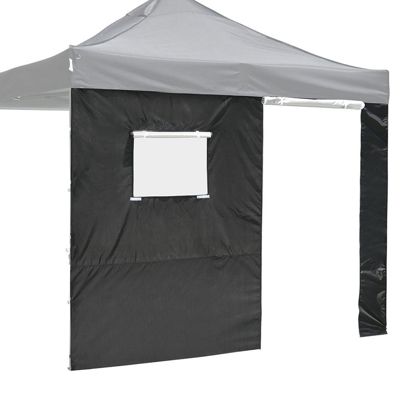 "InstaHibit Canopy Sidewall w/ Door & Window 9'7""Lx6'7""H"