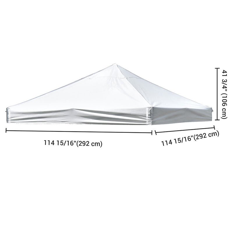 "Pop Up Canopy Top Replacement Roof 9'7""x9'7"""