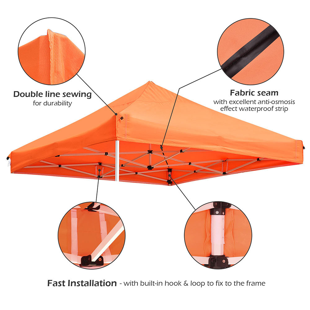 InstaHbit Canopy Replacement 10x10 Pop Ups CPAI-84 FireRetardant