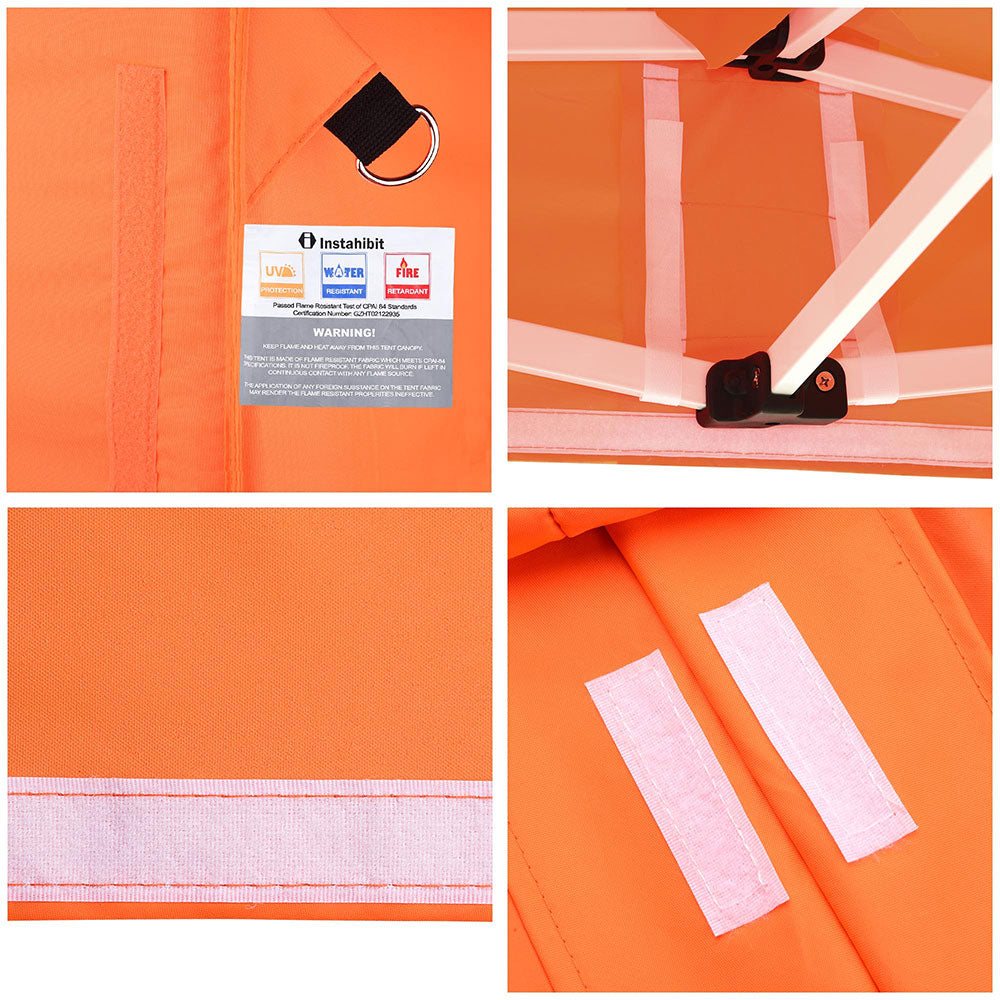 InstaHibit Canopy Replacement 10x15 Pop Ups CPAI-84 FireRetardant