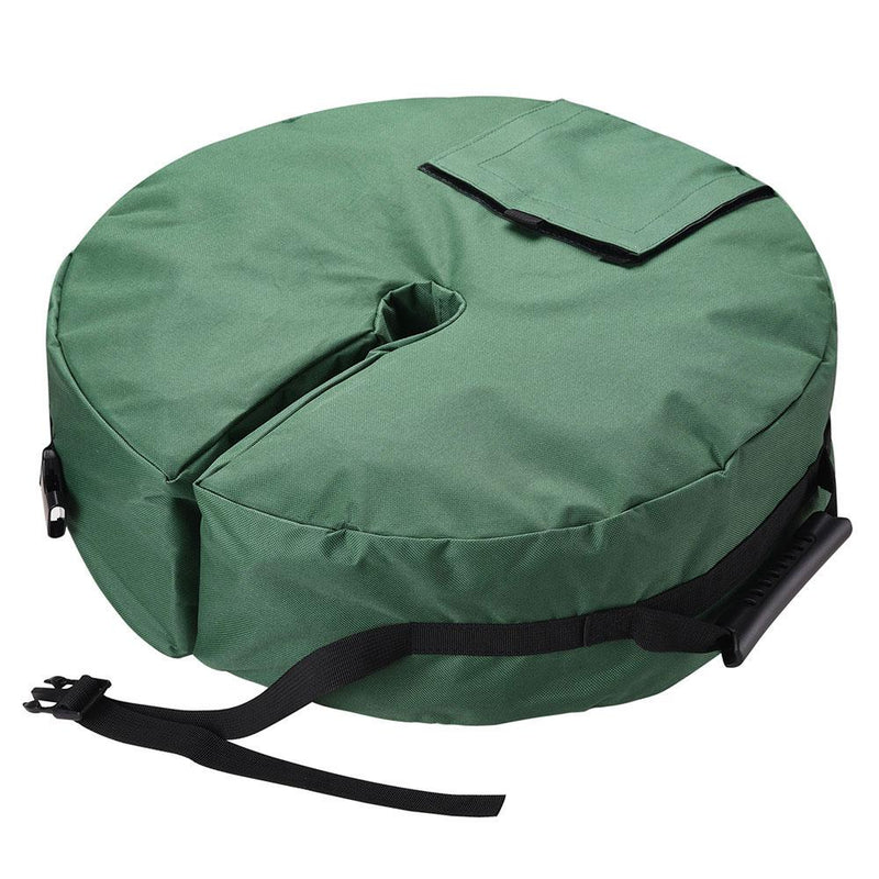 "66 lb Umbrella Weight Bag Sandbag 3 1/8"" Hole"
