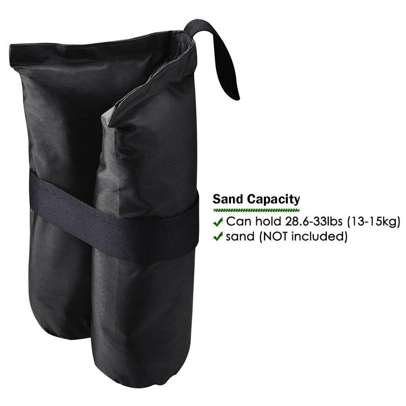 4pcs Canopy Weight Bags Anchor Hole for Canopy Tents