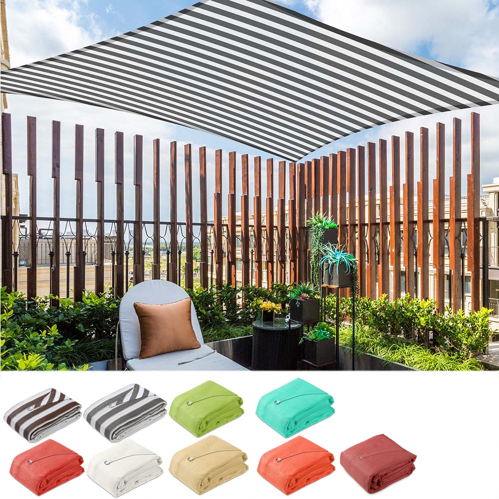 Rectangle Shade Sail Patio Deck Shade 13x19