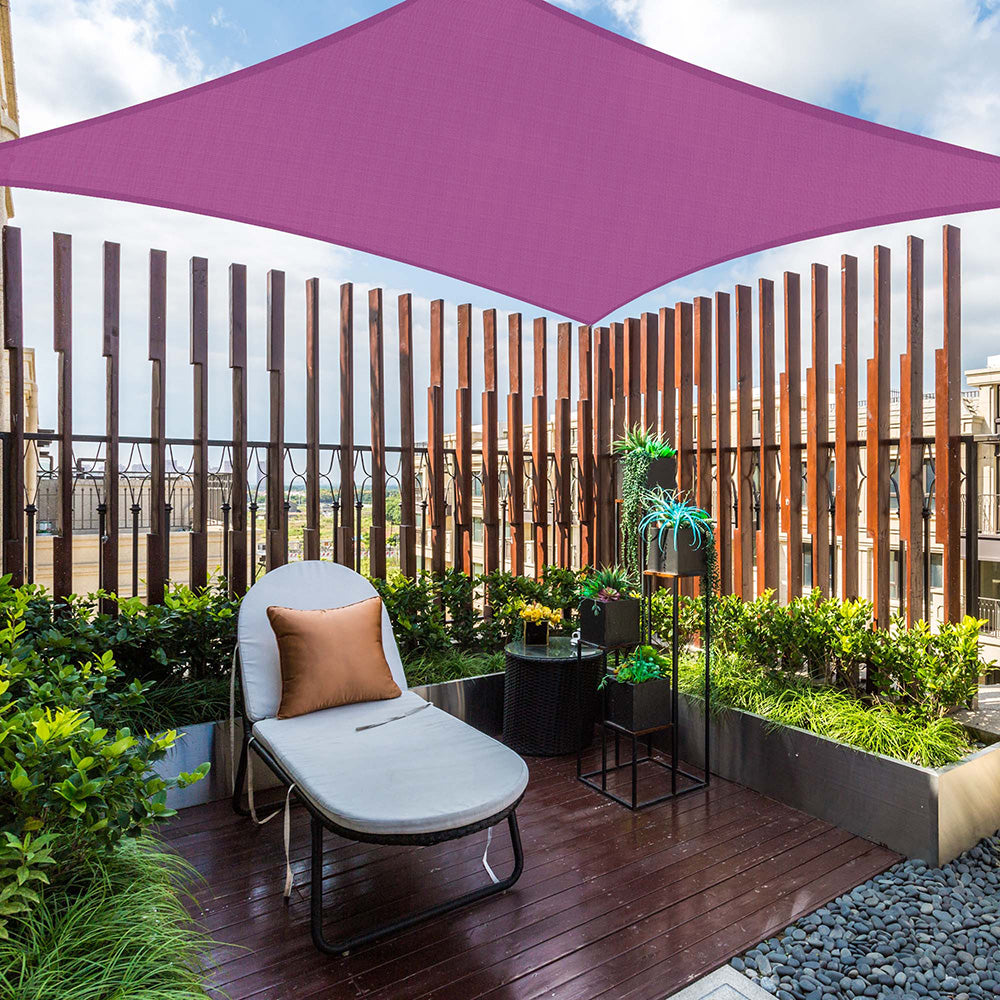 Square Sun Sail Patio Deck Shade Sail 10x10