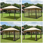 Pop Up Gazebo with Netting 11x11 ft (Preorder)