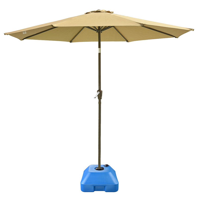 "84 lb Umbrella Stand Sand Water Filled 1 1/4"" Hole"