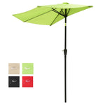 Half Umbrella with Tilt 10ft 5-Rib