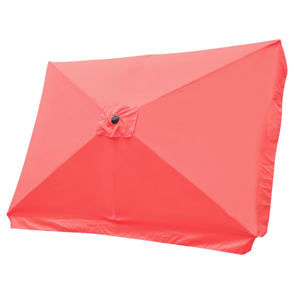 Rectangular Patio Umbrella Canopy 10x6.5ft 6-Rib