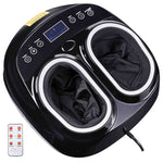 Heated Foot Massager Kneading Rolling Air Compression