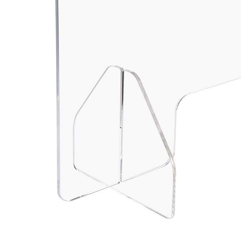 "Sneeze Guards Desk Dividers 3-Panel 36""x24"" Acrylic"