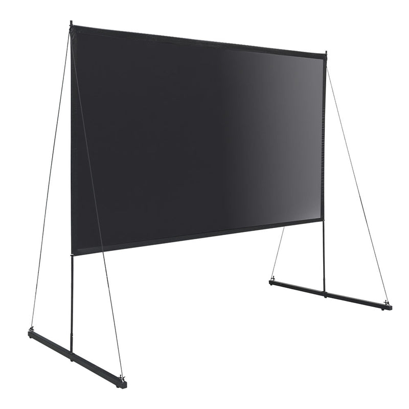 "Ecom Portable Freestand Front Projector Screen w/ Legs 100"" 16:9"