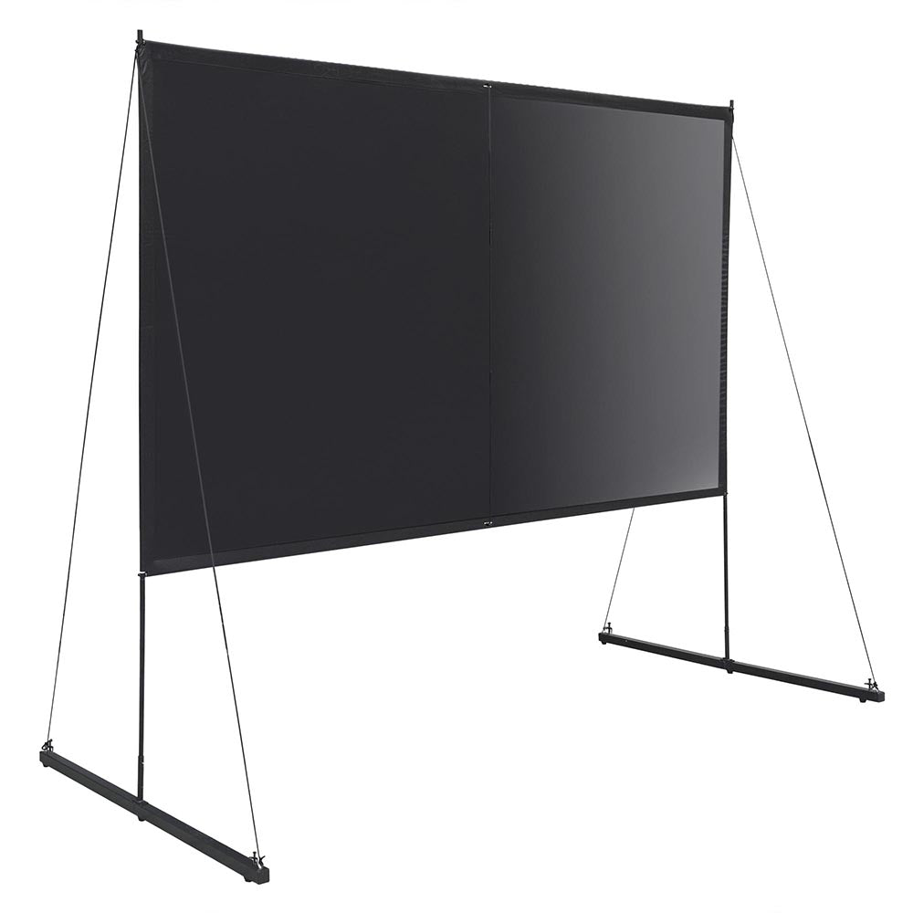 "Ecom Portable Freestand Front Projector Screen w/ Legs 120"" 16:9"