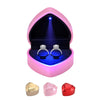 Engagement Ring Box with Light Heart Shaped Jewelry Gift Box