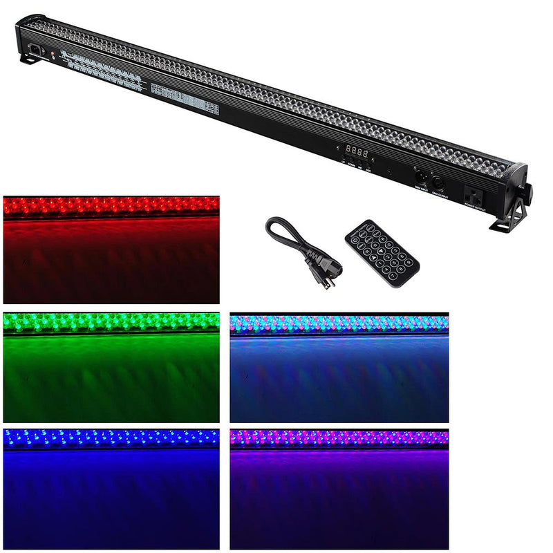 LED Wall Washer Light 40in 30W RGB 6-Channel