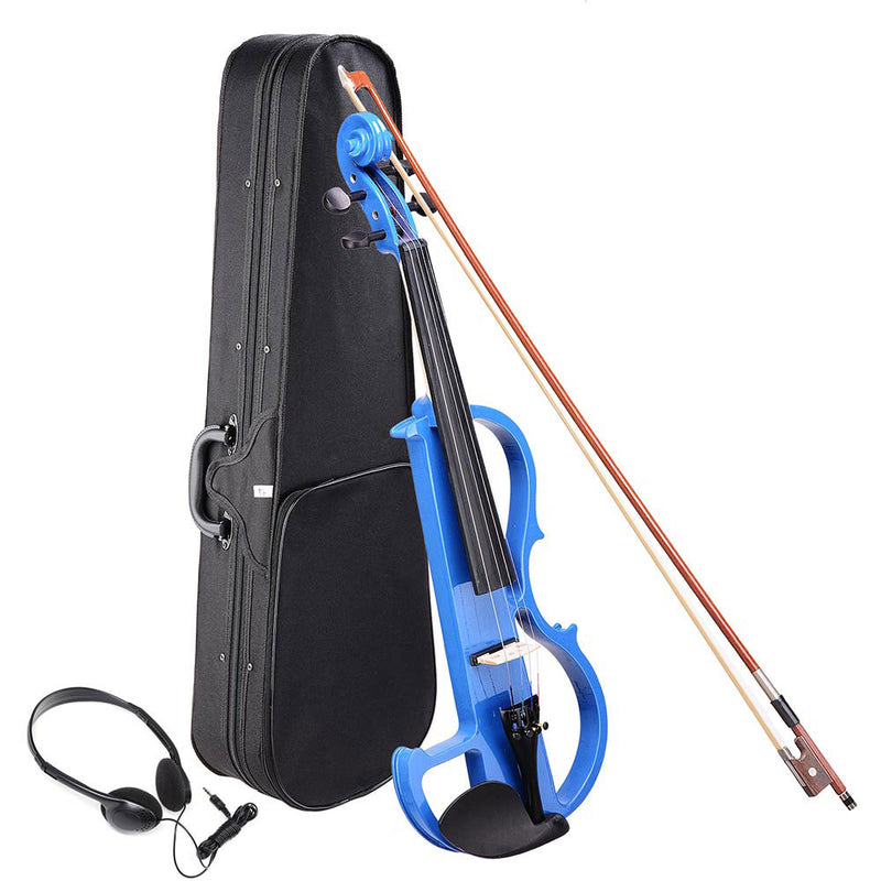 4/4 Electric Violin for Beginners Headphone Rosin Case Included