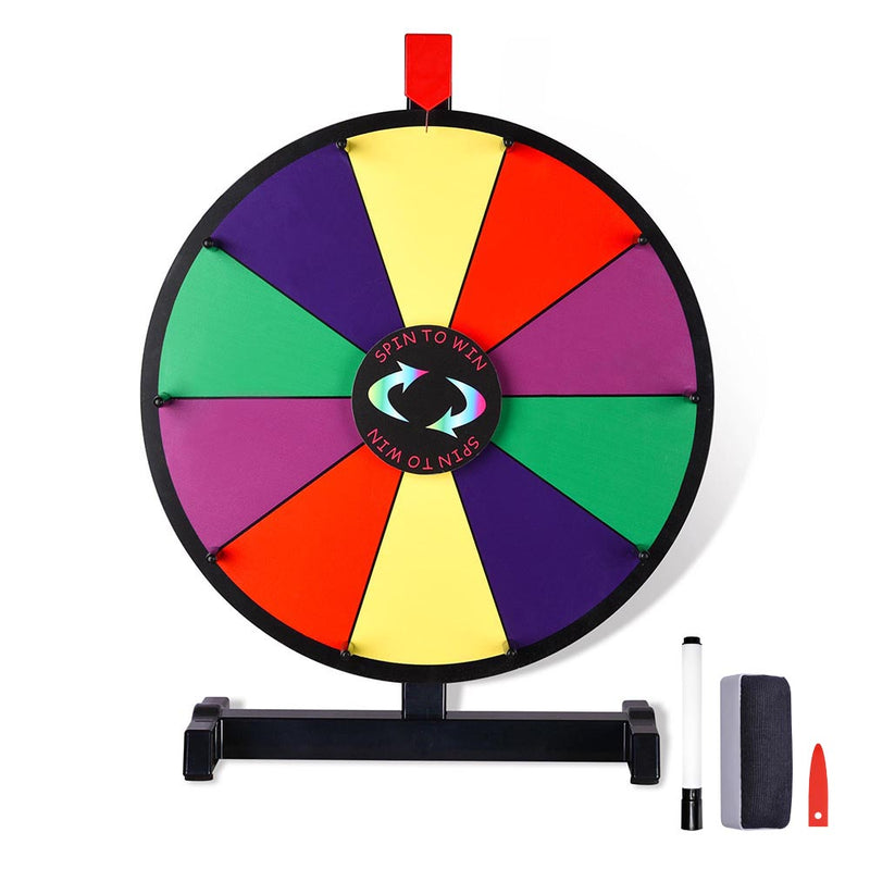 Winspin Wheel Tabletop Prize Wheel Dry Erase 15""