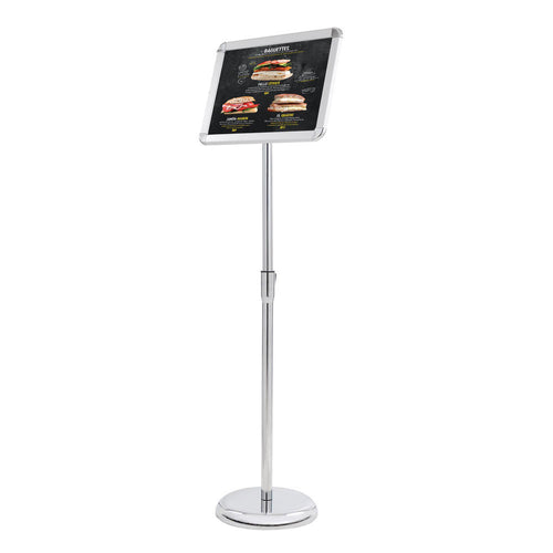"8.5"" x 11"" Floor Display Pedestal Poster Sign Stand"