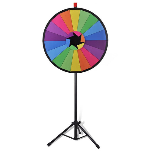 WinSpin Prize Wheel Dry Erase Spinning Wheel w/ Tripod Stand, 30""