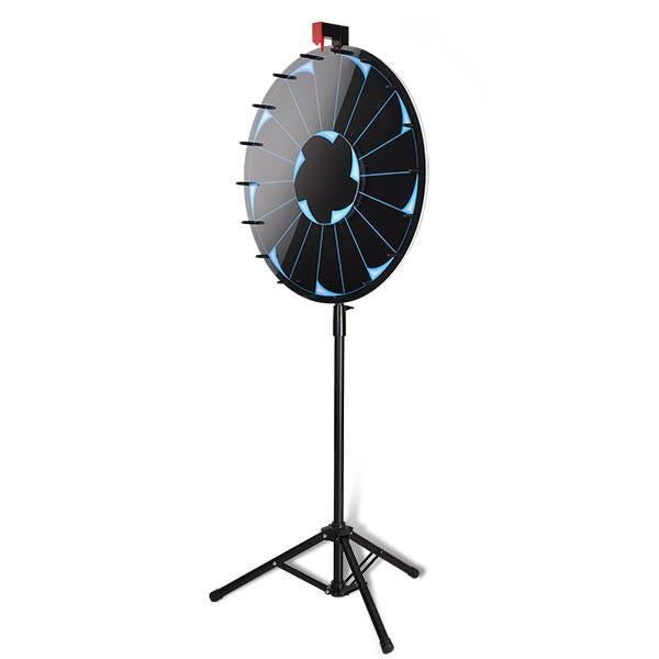 "WinSpin 24"" Tripod Dry Erase Spinning Prize Wheel"