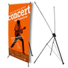 "Wholesale X Banner Stand, Carry Bag, 24""x63"" Graphic"