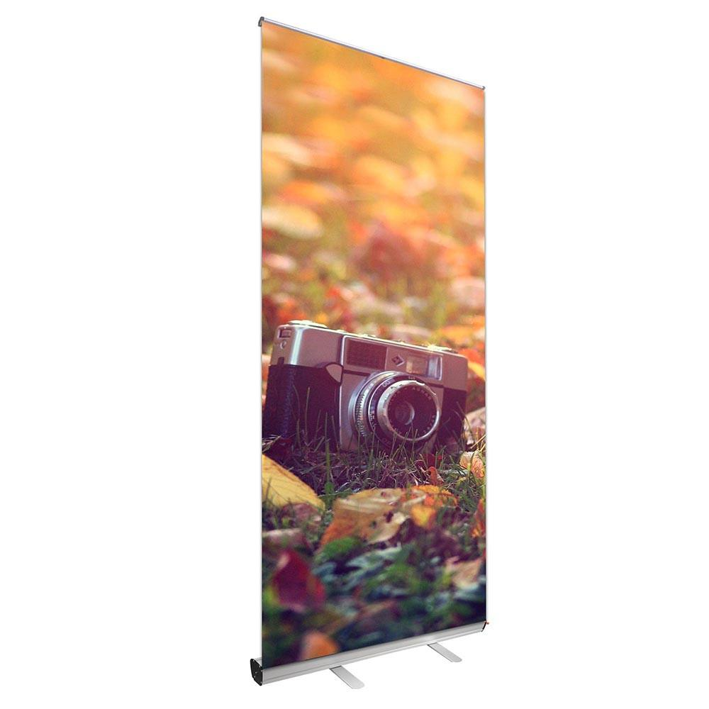 "Wholesale Retractable Banner Stand, Carry Bag, 39""x79"" Graphic"
