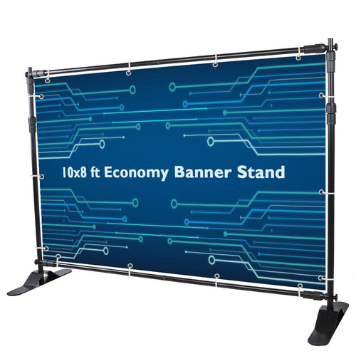 Wholesale 10x8 ft Trade Show Banner Stand Adjustable Economy
