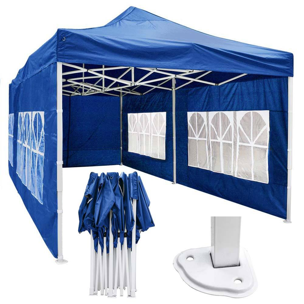 10'x20' Waterproof Pop Up Canopy Tent with Sides (Preorder)