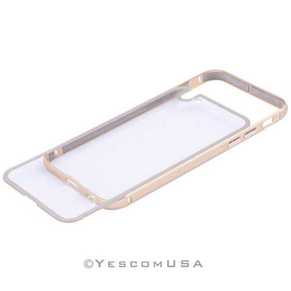 Luxury Ultrathin Gold Frame Case Cover for iPhone 6
