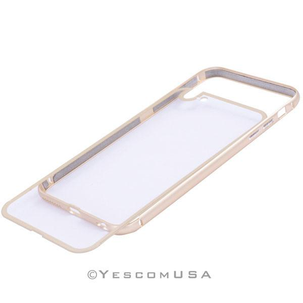 Luxury Ultrathin Gold Frame Case Cover for iPhone 6 Plus