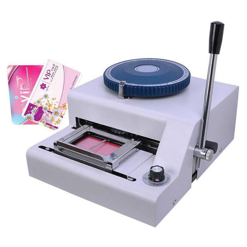 Manual PVC Plastic Card Embosser