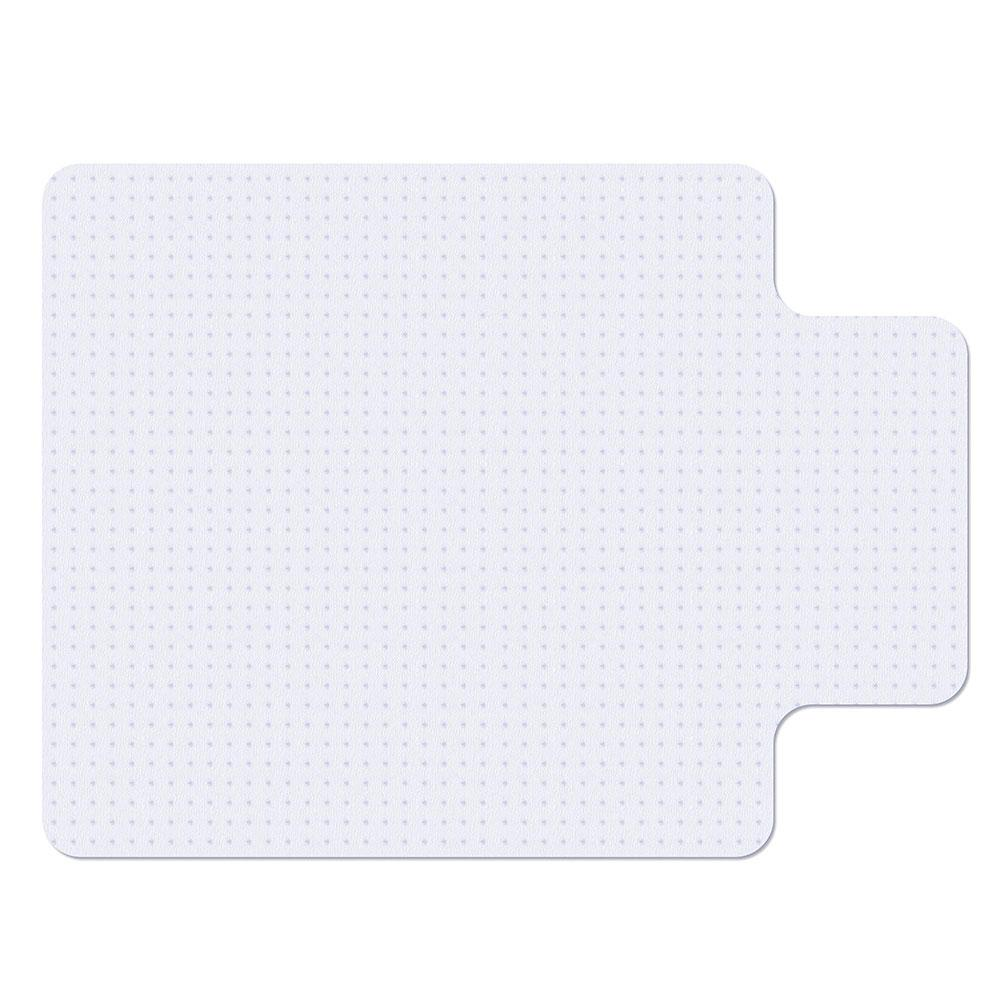 "36"" x 48"" Studded Chair Mat for Low Pile Carpet with Lip - 1/8"" Thick"