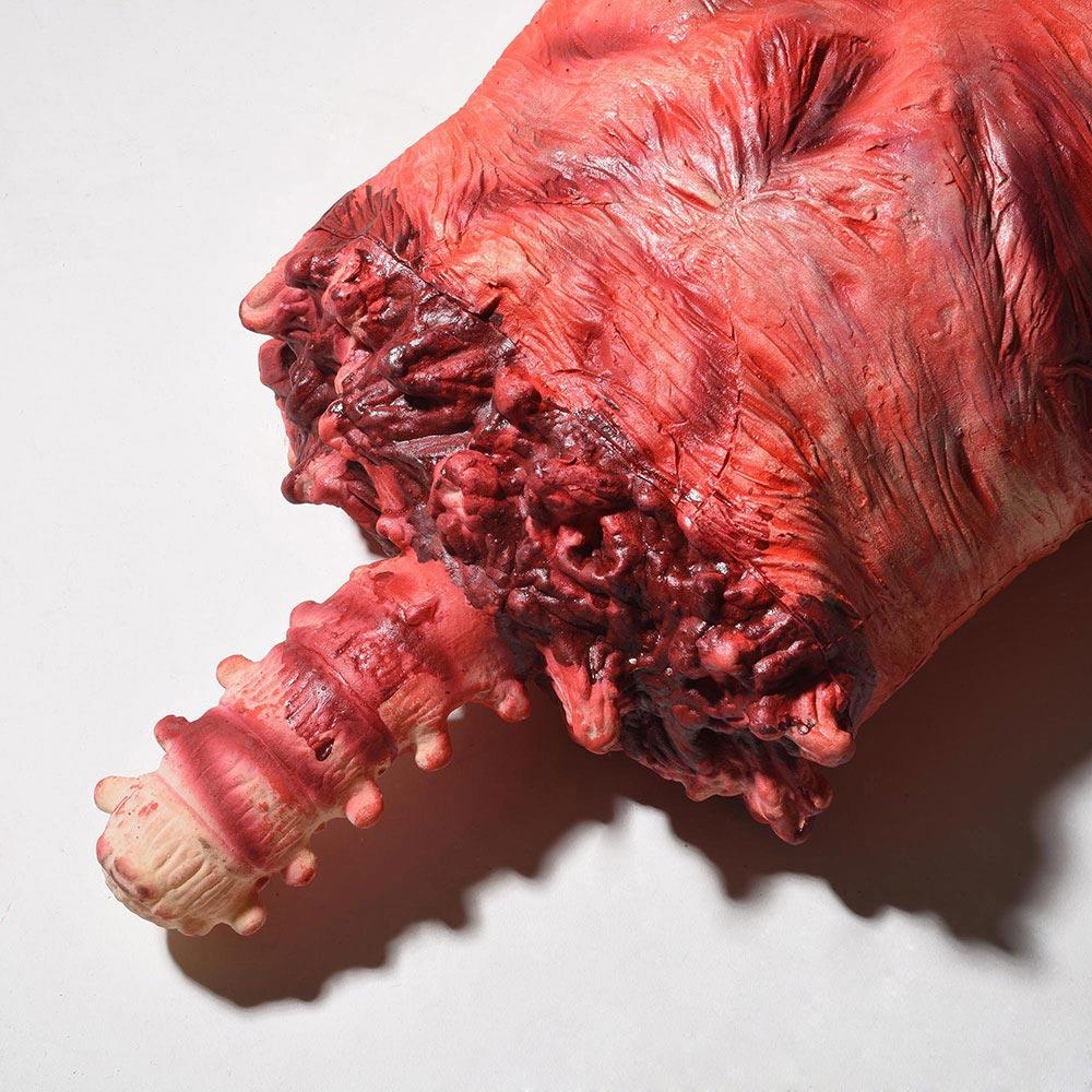 Life-Size Halloween Props Severed Skinned Hanging Torso