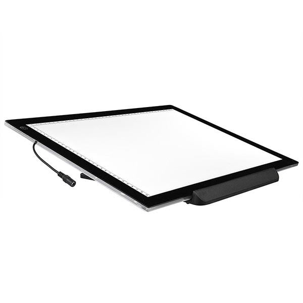 19 inch LED Tracing Light Board w/ Rotating Base & Tracing Papers