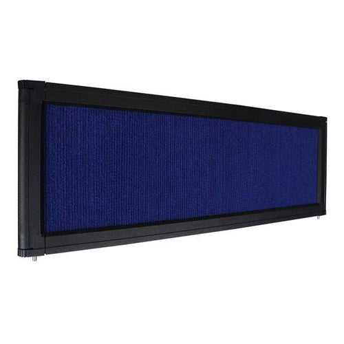 Portable Trade Show Display Header Blue
