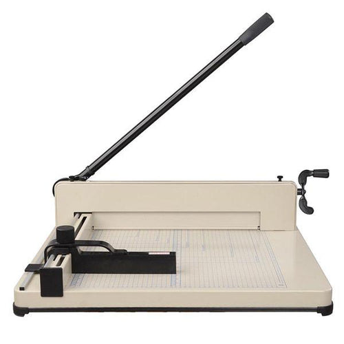"17"" Steel Duty Manual Guillotine, Paper Cutter and Trimmer"