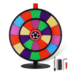 "WinSpin Prize Wheel Double Wheels 24"" Tabletop Round Base"