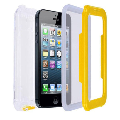 Yellow Waterproof Case Dirt Sand Proof Cover for iPhone