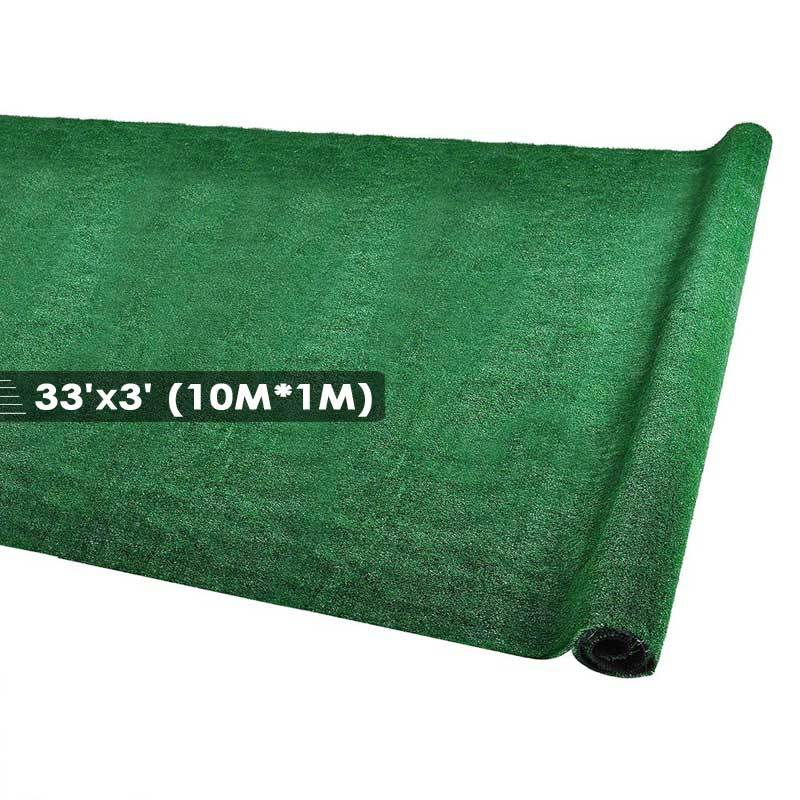 Artificial Lawn Grass Turf Synthetic Pet Turf Roll 33ft x 3ft