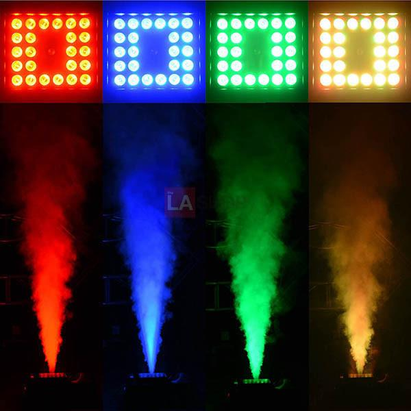 Smoke Fog Machine with Lights Remote DMX 20,000CFM