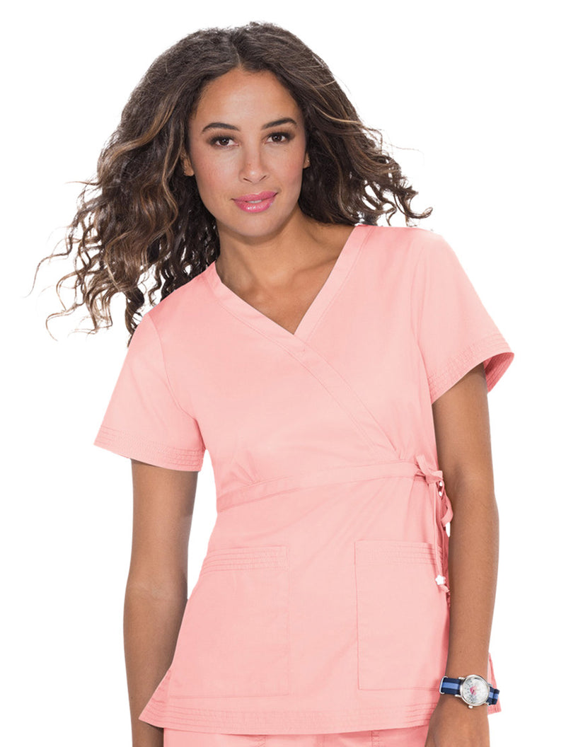 Koi Katelyn Scrub Top Blush