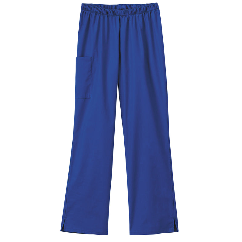 Fundamentals Ladies Cargo Pocket Scrub Pant Galaxy Blue