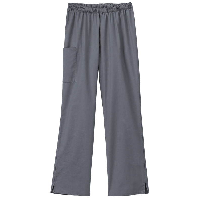 Fundamentals Ladies Cargo Pocket Scrub Pant Pewter