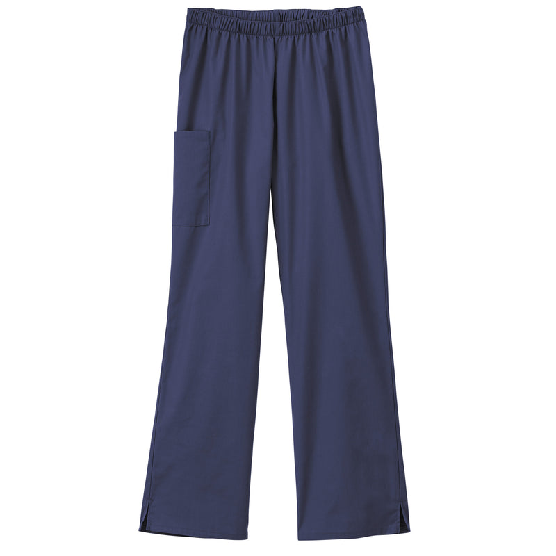 Fundamentals Ladies Cargo Pocket Scrub Pant Navy