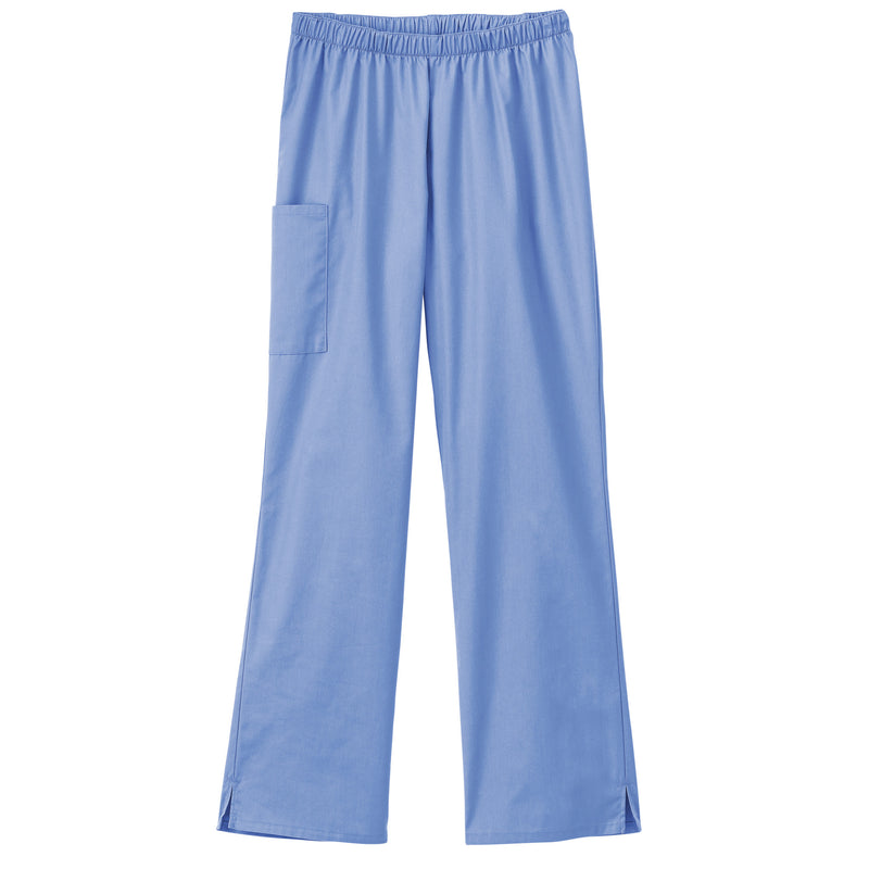 Fundamentals Ladies Cargo Pocket Scrub Pant Ceil