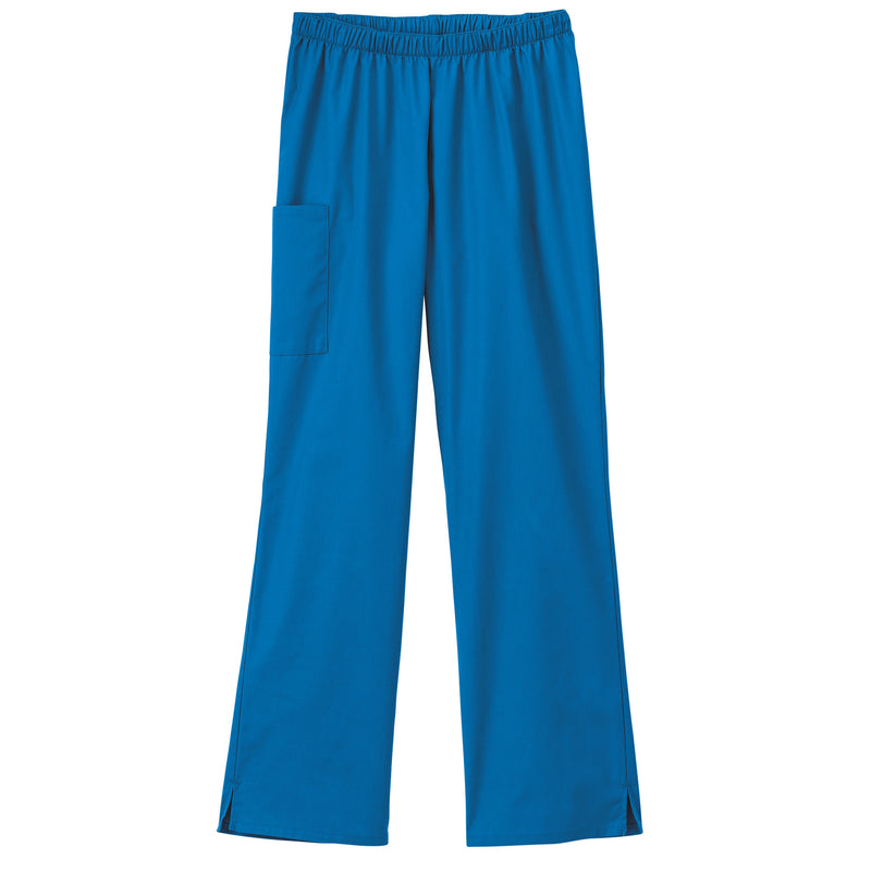 Fundamentals Ladies Cargo Pocket Scrub Pant Royal Blue