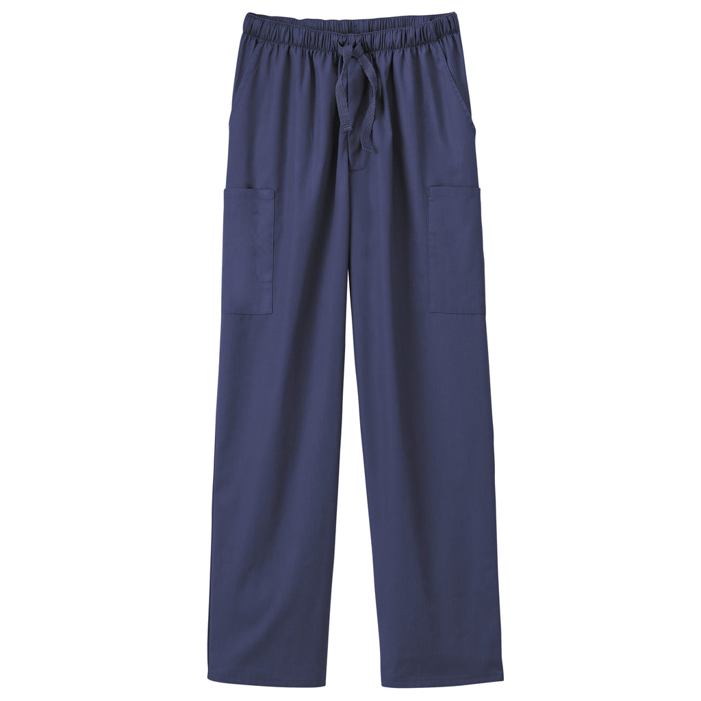 Fundamentals Unisex Five Pocket Scrub Pant Navy