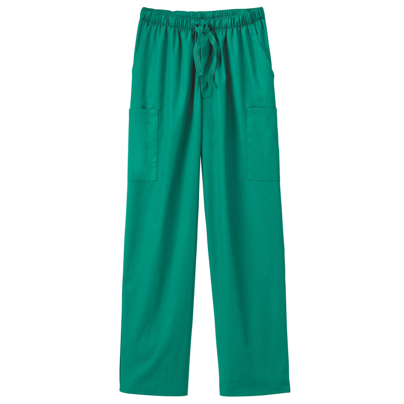 Fundamentals Unisex Five Pocket Scrub Pant Hunter Green