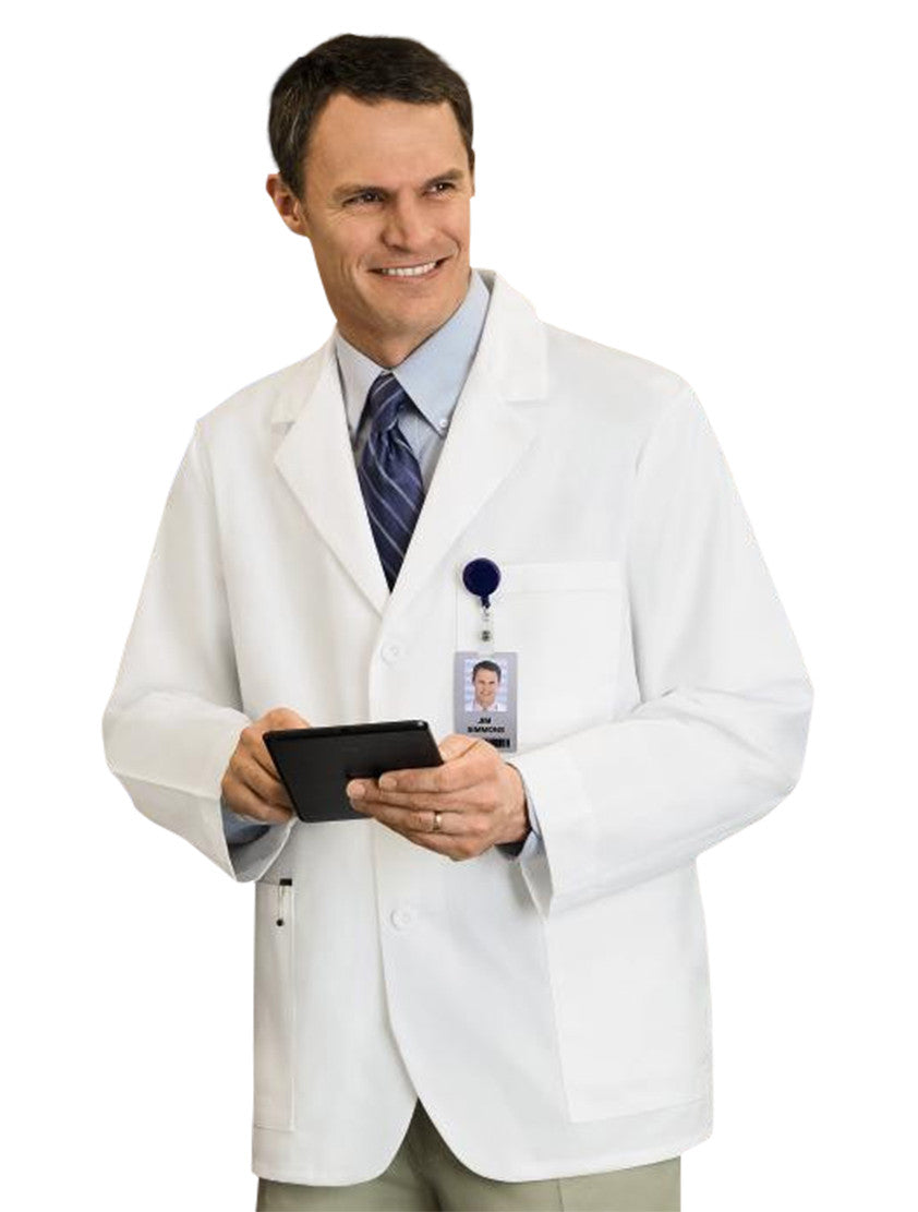 "Meta Men's 30"" Consultation Lab Coat Right"