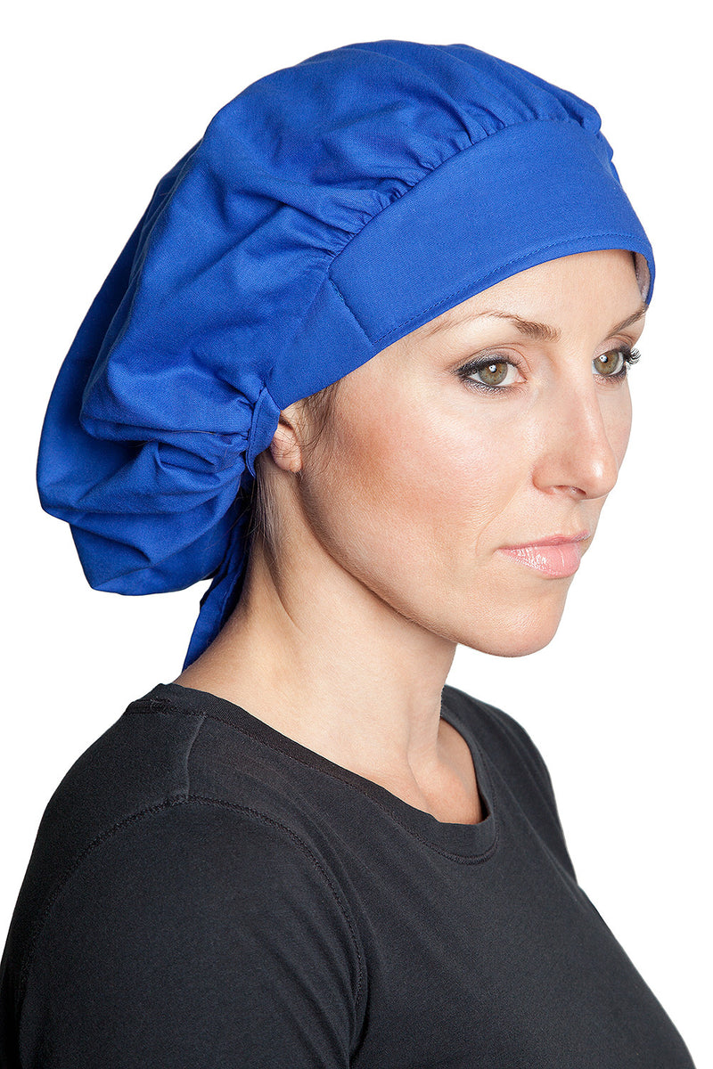 Fiumara Apparel Bouffant Cap Blue