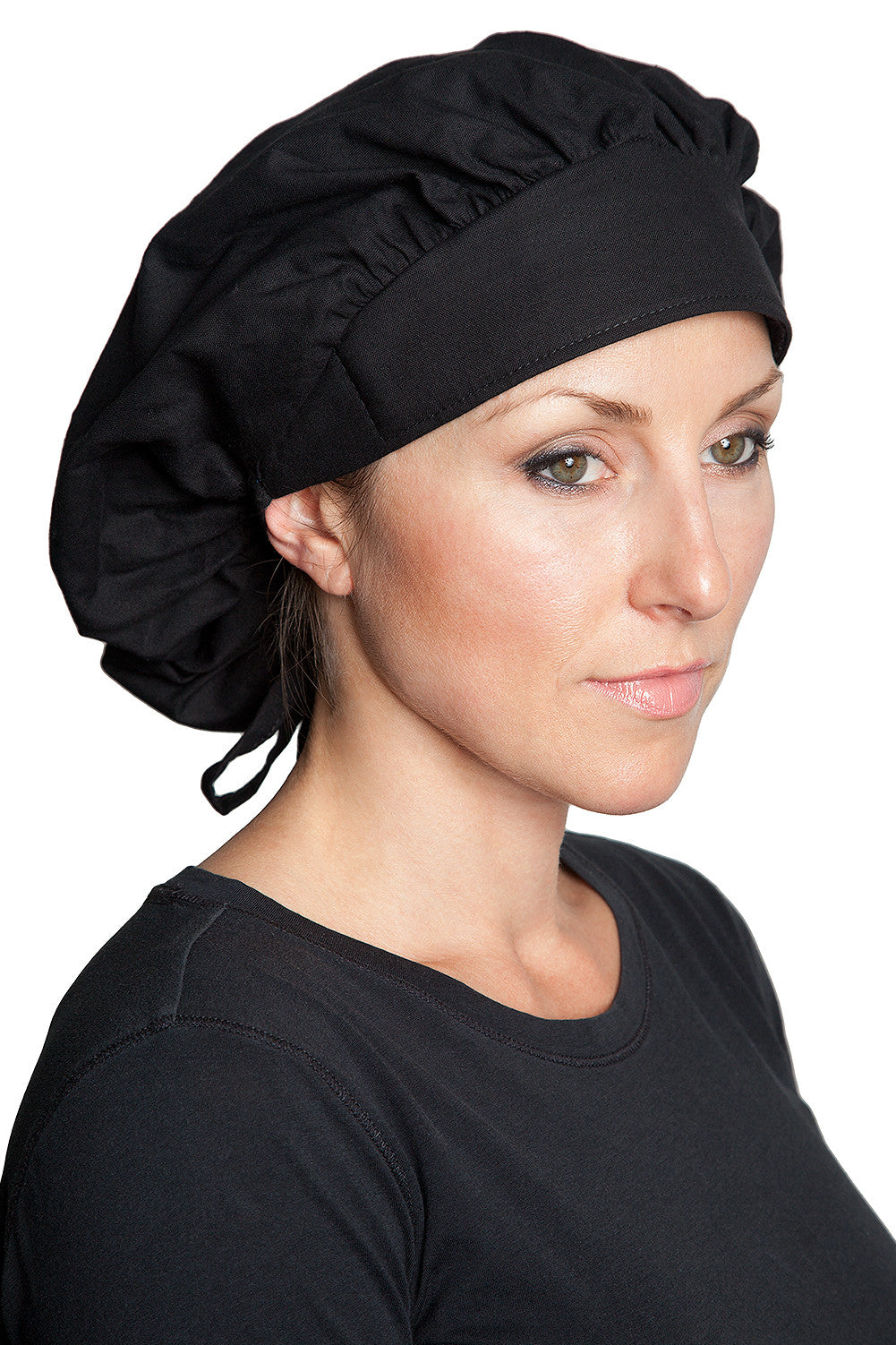 Fiumara Apparel Bouffant Cap Black